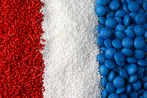 Red, White & Blue Sprinkles | by Bakerella