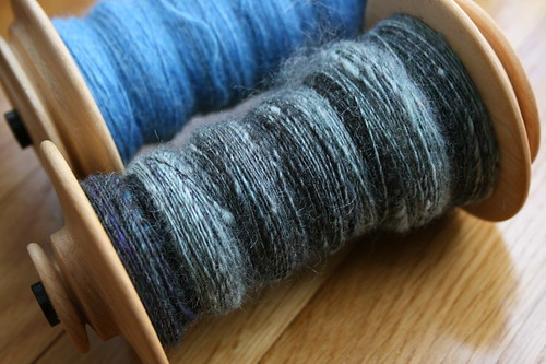 Handspun: A Touch of Twist Rambouillet/Silk | by mygomi