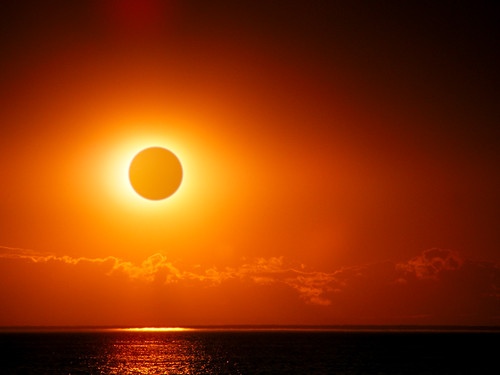 Eclipsed? Not totally. | by James Jordan