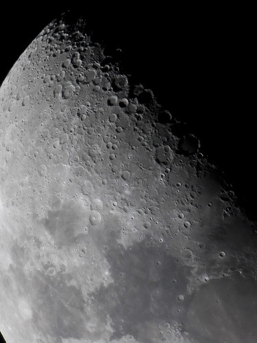 Moon close up 09 08 2008 close up of some moon action - Moon close up ...