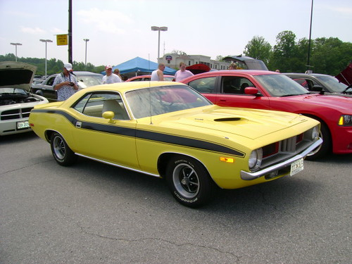 1973 Plymouth Cuda Old School New School Show At Prince