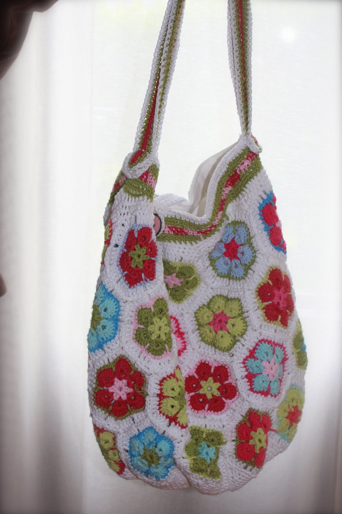 African Flowers Summer Bag Bag Pattern From Mia Inspiratio Flickr