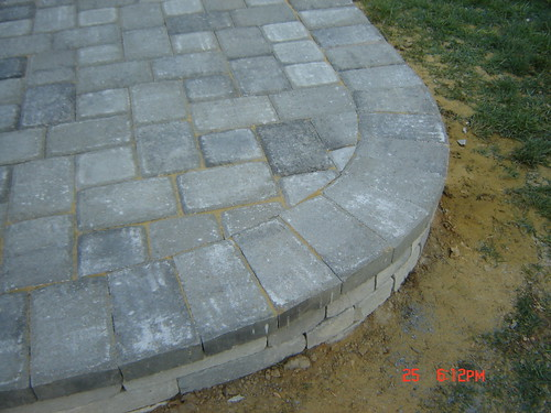 Patio paver 6x9 and 6x6 natural charcoal   lspavers   Flickr