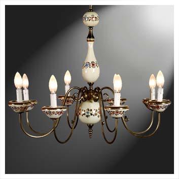 lampadario art deco Splendido lampadario deco in ...