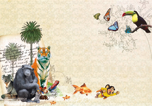 Welcome to jungle (collage digital) | by Javier Piragauta