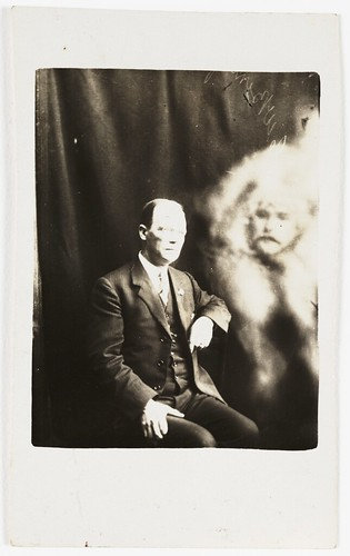 Man with a spirit face appearing | by National Media Museum