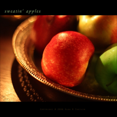sweatin' apples | by oreolla