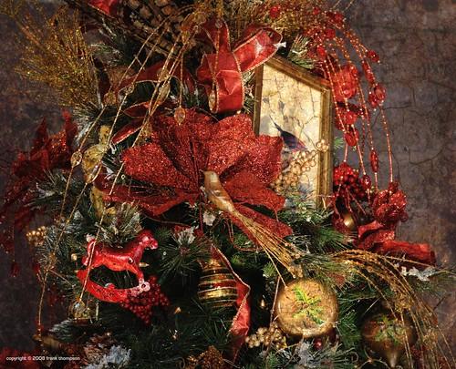 Detail Shot: Christmas Tree At Union Station