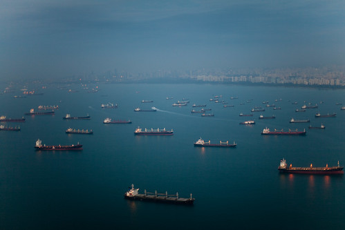 Ships in Singapore | by Joi