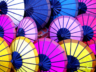 paper umbrellas | by chillntravel