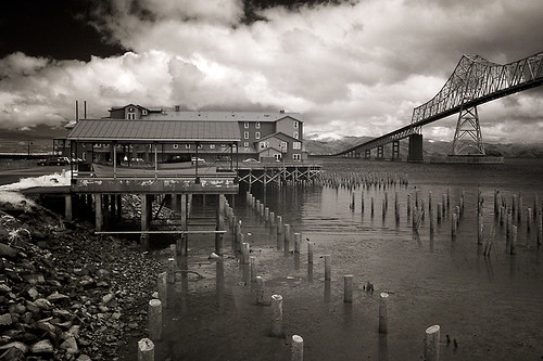 Cannery Pier Hotel and Astoria-Megler Bridge | by Robert_Brown [bracketed]