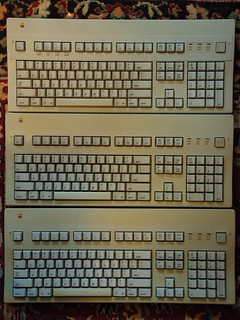 Apple Extended Keyboard II triple threat | by Derek K. Miller