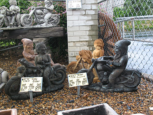 Ordinaire Biker Garden Gnomes | By Tackyjulie Biker Garden Gnomes | By Tackyjulie