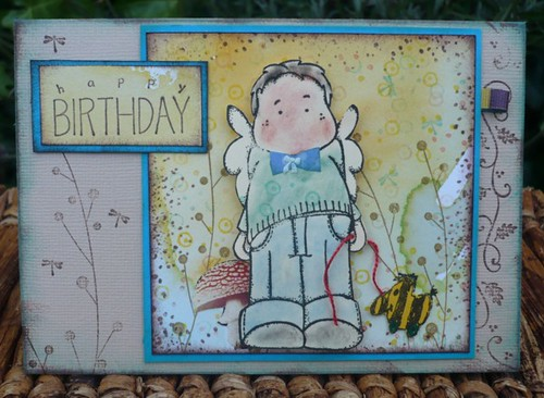birthday card | by stamping_rika