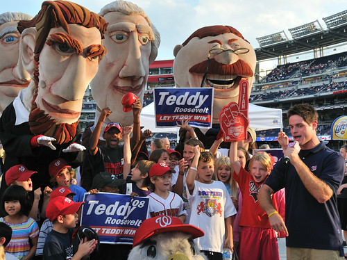 Pre-game Rally at Nationals Park | by Scott Ableman