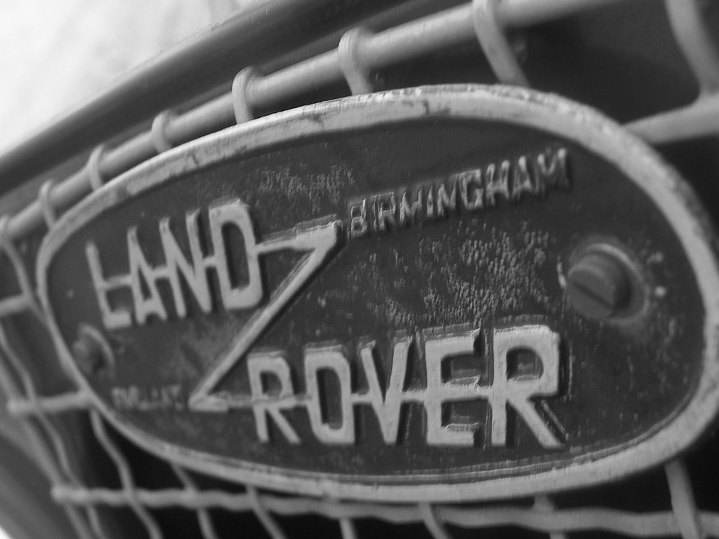 Series 1 Land Rover Symbol This Is The Classic Land Rover Flickr