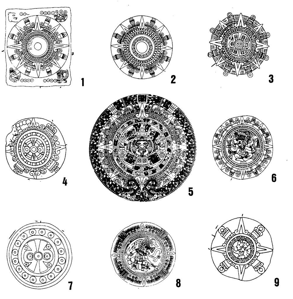 Four159 Calendar Stones From Mexico Fig159 Circular A Flickr