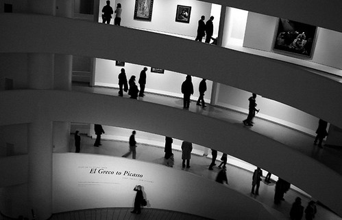 An exhibition at Guggenheim Museum, New York City. 2006.12.30. | by KINO ARCADES