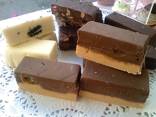 slices of chocolate fudge | by American Candy Stand Cupcakes (Aust.)