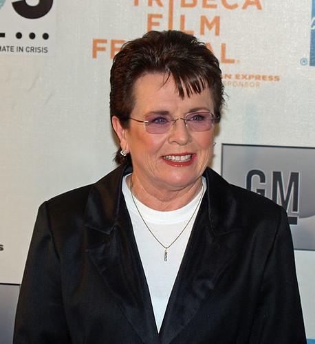 Billie Jean King by David Shankbone