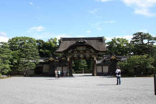 nijo castle: entrance to main gardens | by Doctor Memory
