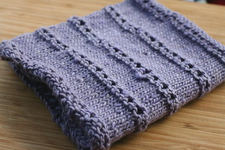 Stacked Eyelet Cowl in Cash Iroha | by add_knitter