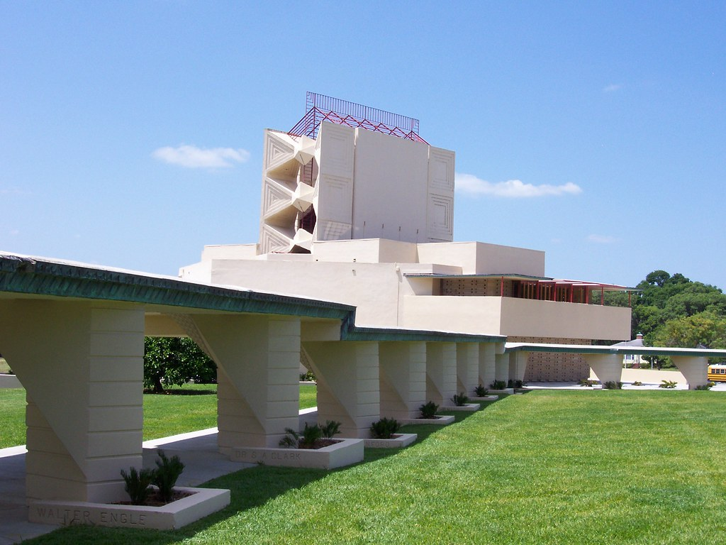 florida southern college architectural district polk count flickr