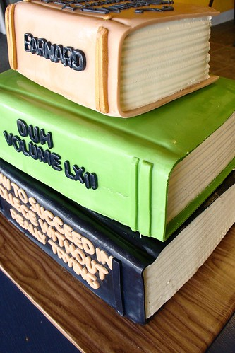 Cake Decorated Like Books : School-book cake for a college graduation Cake decorated ...