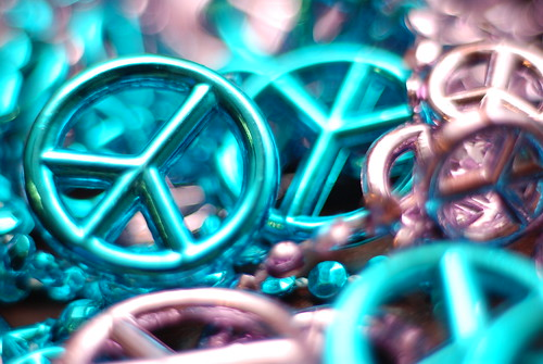 peace beads | by Mark Bonica