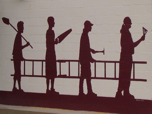 Clever Wall Mural in Yellow Springs, Ohio | by UGArdener