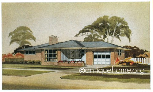 The Monterey 1950s Ranch Style House Mid Century Modern