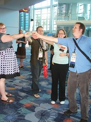 "Library Society of the World wins the ""California Dreaming"" conference game team competition 