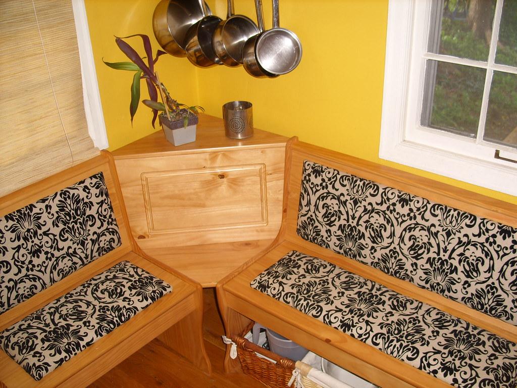 Breakfast nook cushions by wayne brekke