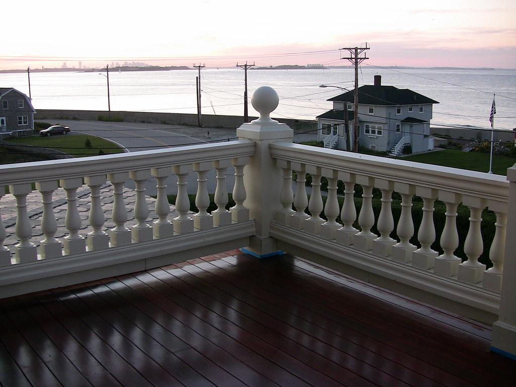 Balcony Off Master Bedroom Of The Honey Fitz Summer Hous Flickr