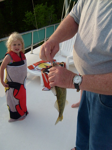 First fish after catching her first fish the biggest for Todd s tropical fish