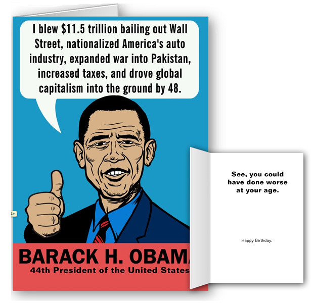 Barack Obama Greeting Card By Liberty Maniacs This Is One Flickr