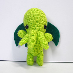 Cthulhu brooch | by halixia