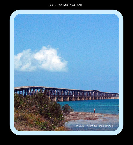 Florida Keys Old Railroad Bridge About The Only Really
