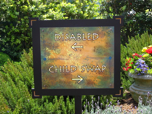 Disabled / Child Swap | by Mike Souza