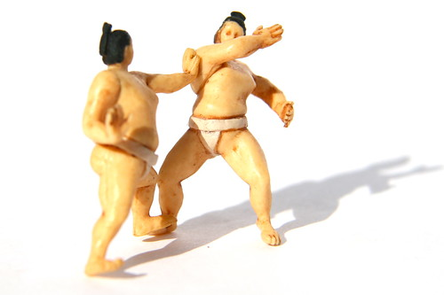 Gashapon Sumo Miniatures - The 365 Toy Project | by puuikibeach