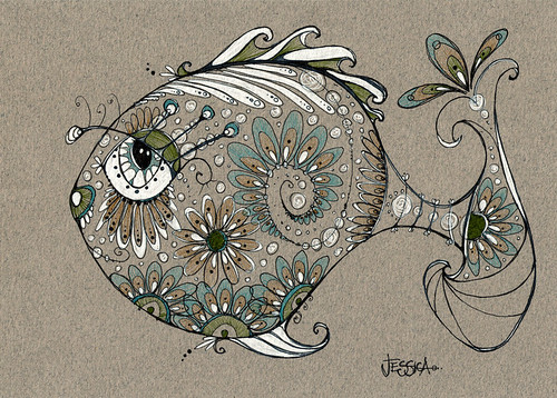 George - yes, he's a pretty fish | by Jessica Doyle