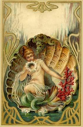Art Nouveau Graphic Design Style