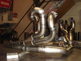 Rock Bug's Scat V4 Exhaust | by Spidertrax