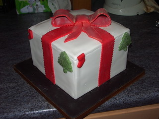 Present christmas cake | by platypus1974