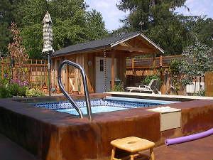 Royal 8a viking pools spa designs aqua inground pool for Pool design vancouver