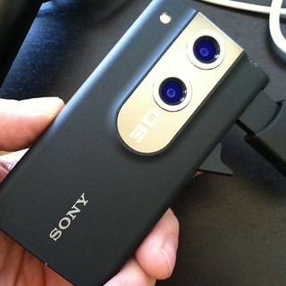 New toy just arrived: 3D Sony Bloggie. Will try it out as soon as it is charged. | by Robert Scoble