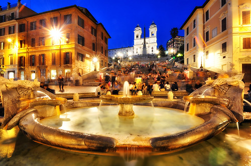 The Spanish Steps at Night | by Seth Oliver Photographic Art