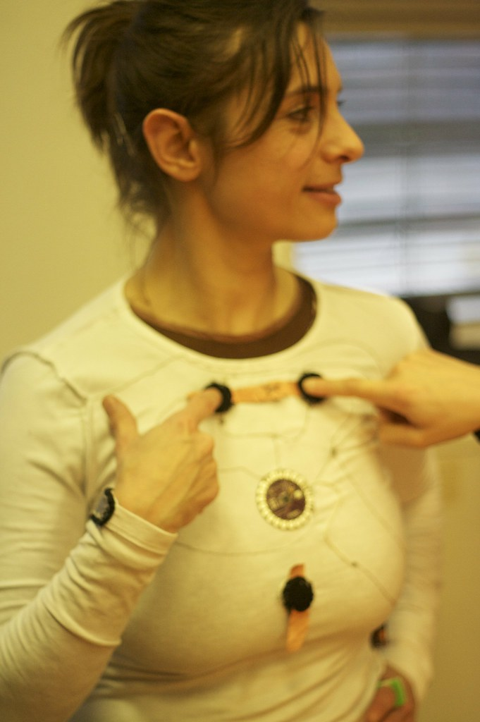Acupuncture wearable