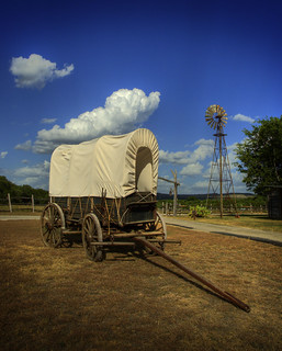 Covered Wagon | by DaveWilsonPhotography