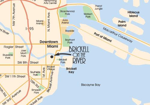 miami map location of brickell on the river   alicia ale